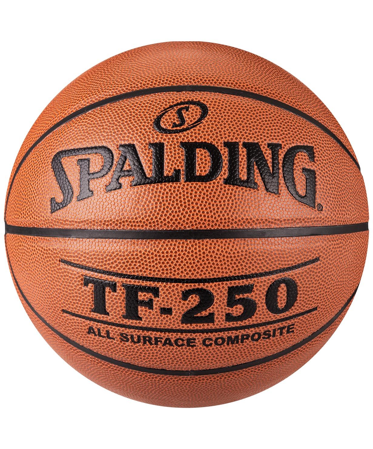 все цены на Мяч баскетбольный Spalding TF-250, Размер 6 (74-532) (6) онлайн