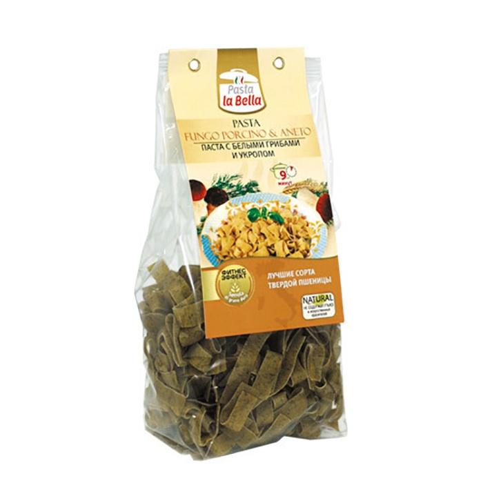 Pasta la Bella Паста с Белыми Грибами и Укропом цена в Москве и Питере