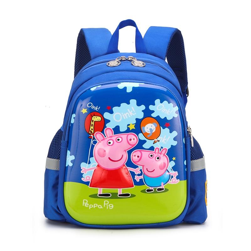 Рюкзак детский Peppa Pig, Свинка Пеппа, ярко-синий рюкзак discovery 40х28х16см рельефная анатомическая спинка тёмно синий