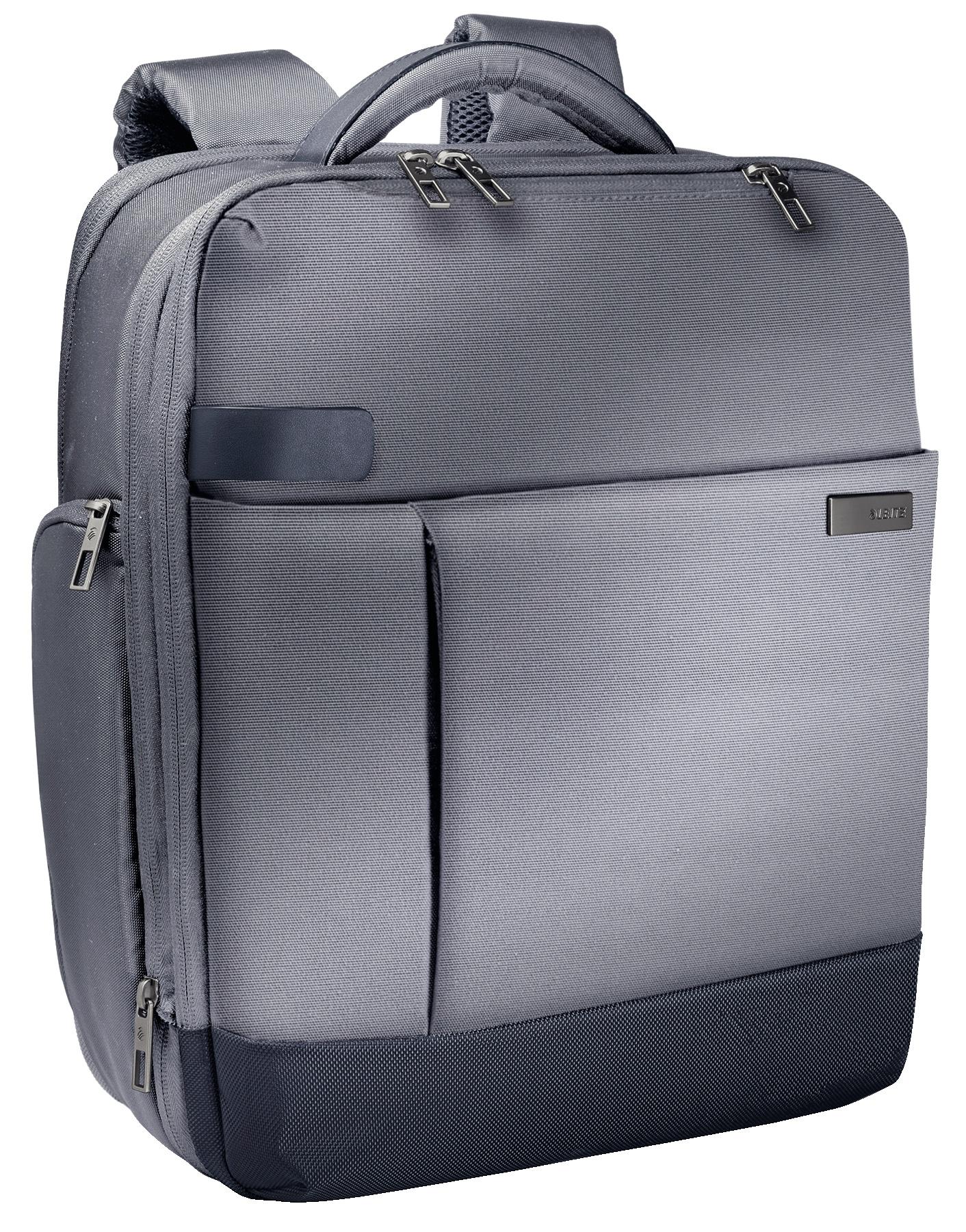 Рюкзак для ноутбука Apple MacBook и Ultrabook 15,6, серебристо-серый,Leitz