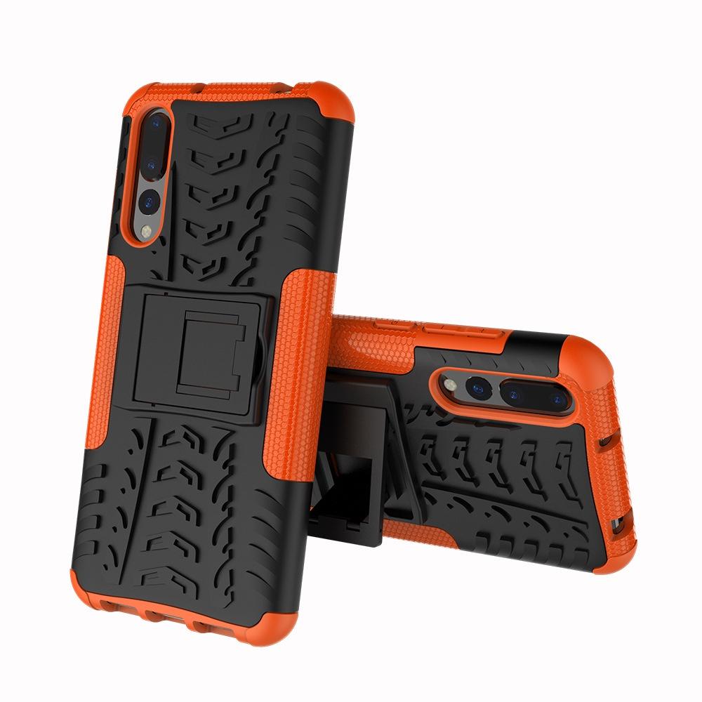 Чехол MyPads для Nokia Lumia 735 Противоударный усиленный ударопрочный оранжевый