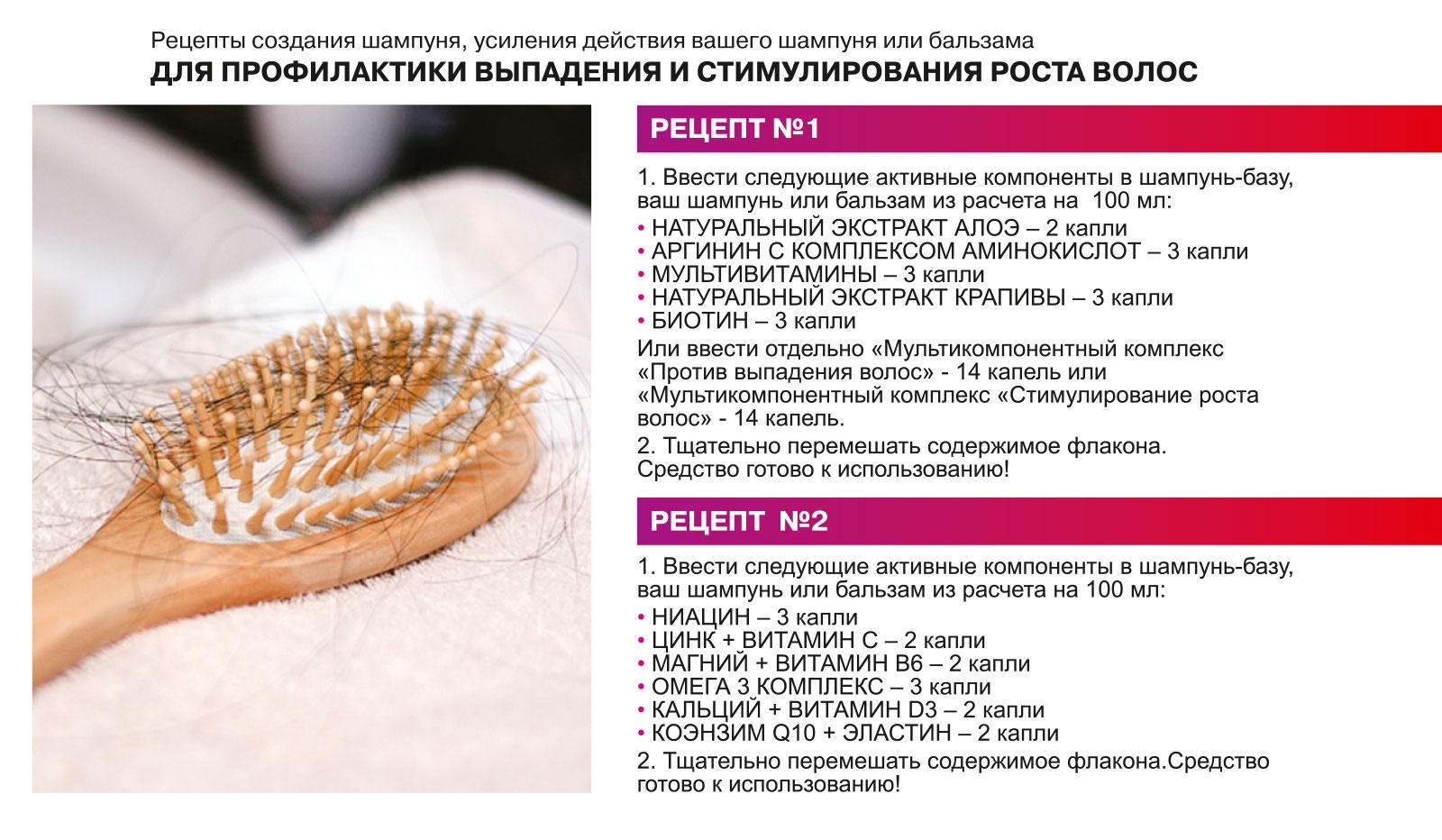 Мультикомпонентный комплекс Против выпадения волос, серии  Линия HandMade  5 ml ЛИНИЯ HANDMADE