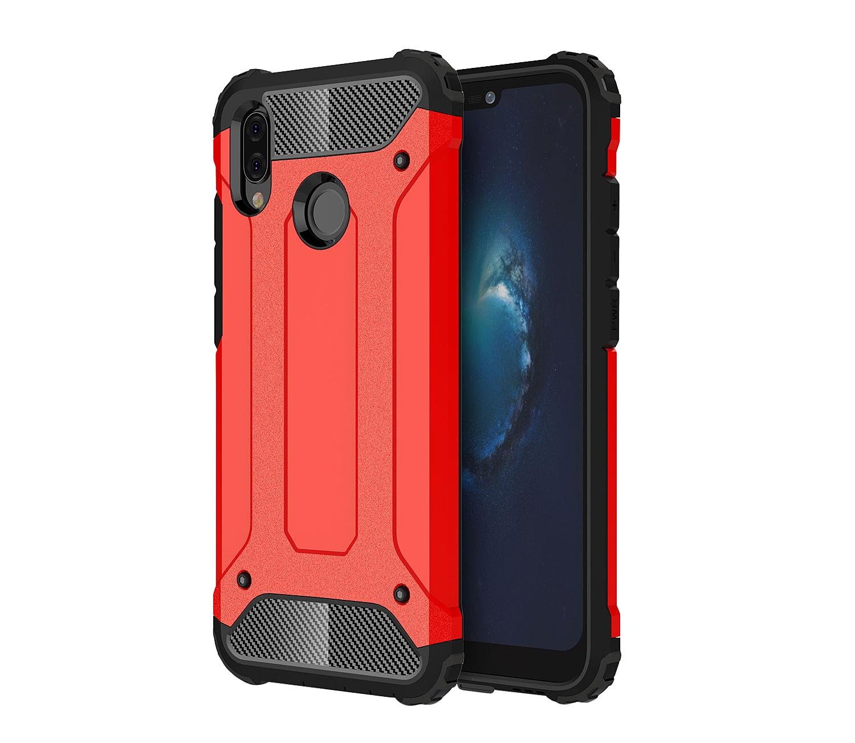 Чехол MyPads для Huawei Honor 6X Противоударный усиленный ударопрочный красный
