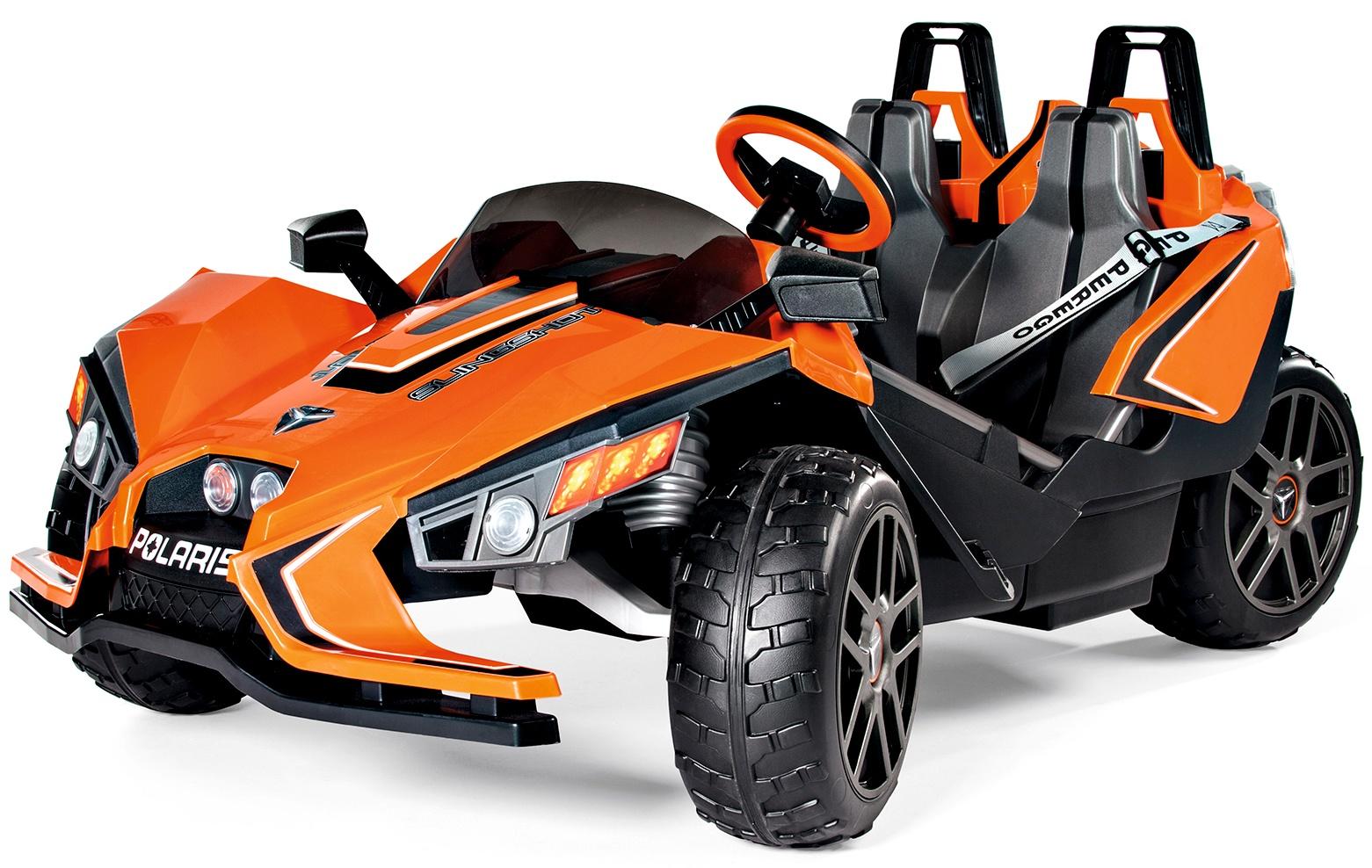 Детский электромобиль Peg-Perego Polaris Slingshot для двух детей