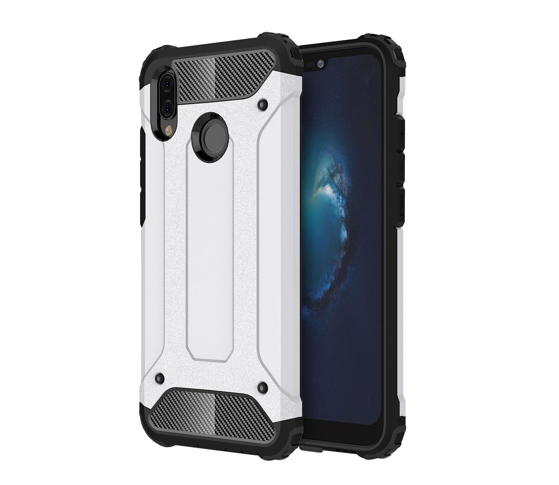 Чехол MyPads для Huawei Honor 6X Противоударный усиленный ударопрочный белый