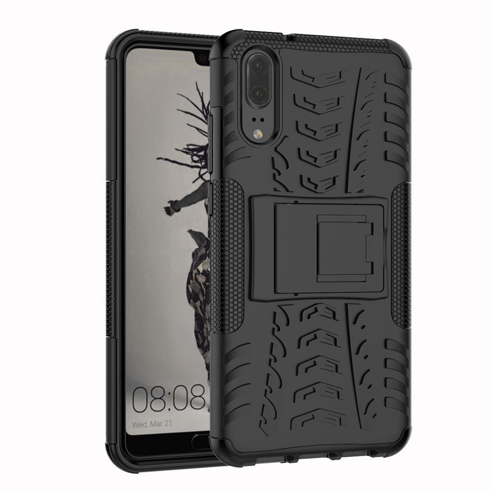 Чехол MyPads для LG X power 2 M320 Противоударный усиленный ударопрочный черный