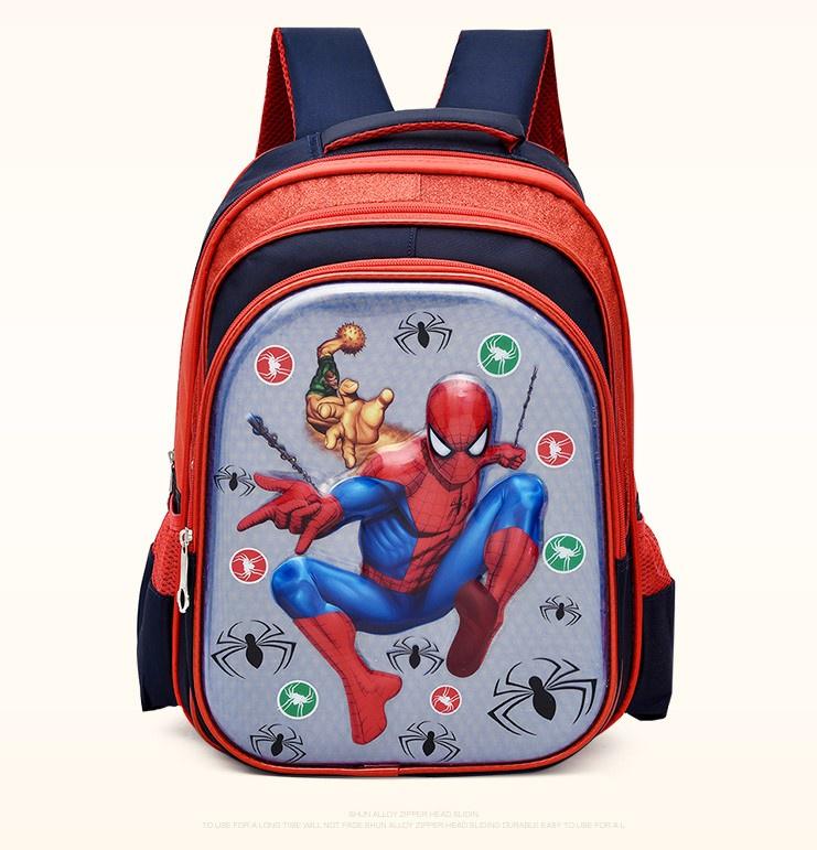 Рюкзак детский школьный Spiderman, Человек-паук, темно-синий