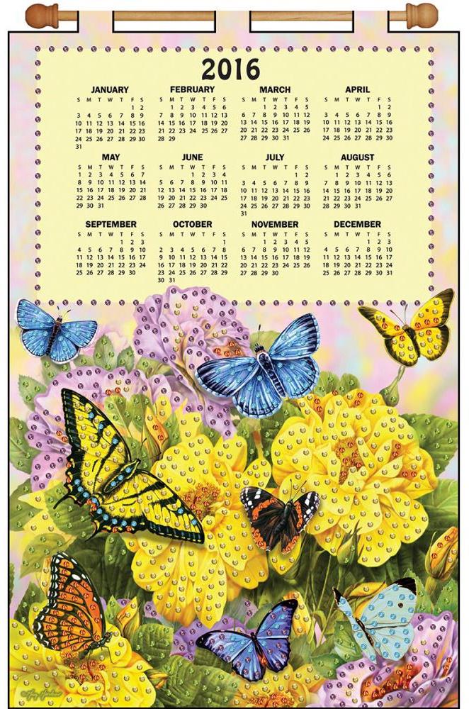 "Набор для творчества Design Works ""Butterflies"""