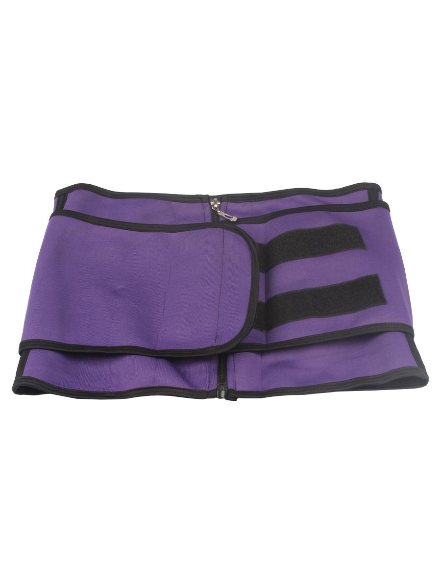 Пояс Waistabdomen для похудения, цвет фиолетовый, р.3XL L.A.G.