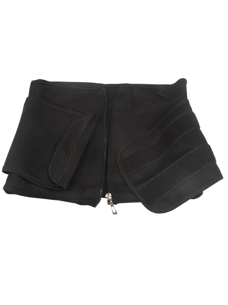 Пояс Waistabdomen для похудения, цвет черный, р.L L.A.G.