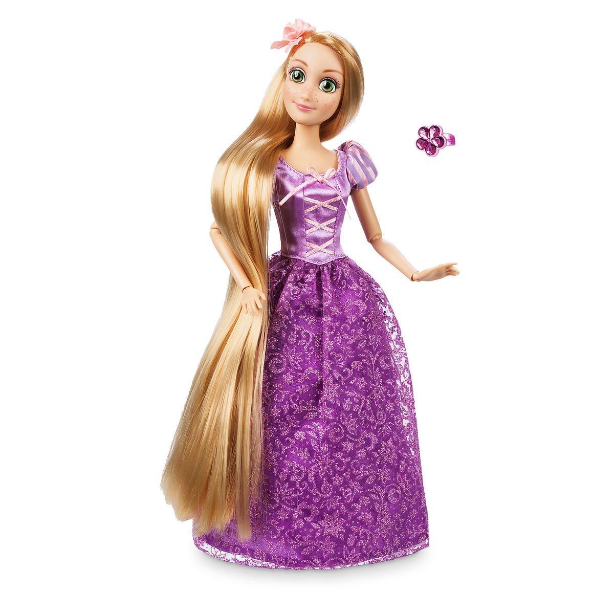 Кукла Принцессы Дисней Рапунцель Disney дисней принцесса аппликация из пайеток рапунцель в пакете 25 17 5см арт 03191