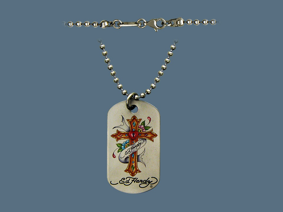 купить Колье/ожерелье бижутерное Ed Hardy по цене 2551 рублей