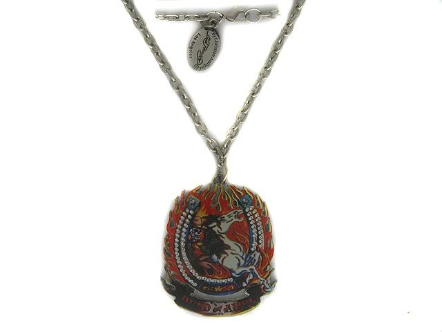 Колье/ожерелье бижутерное Ed Hardy футболка audigier
