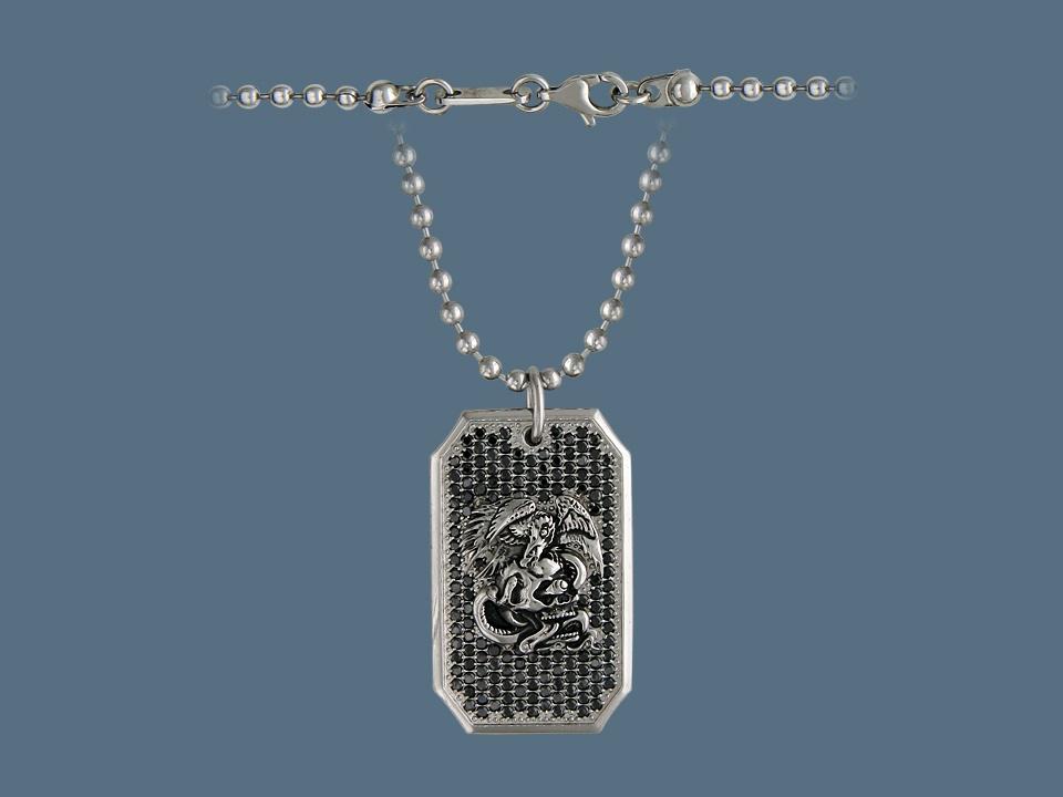 Колье/ожерелье бижутерное Ed Hardy кельма hardy четырехугольная нерж сталь 16х11см 2 х комп ручка