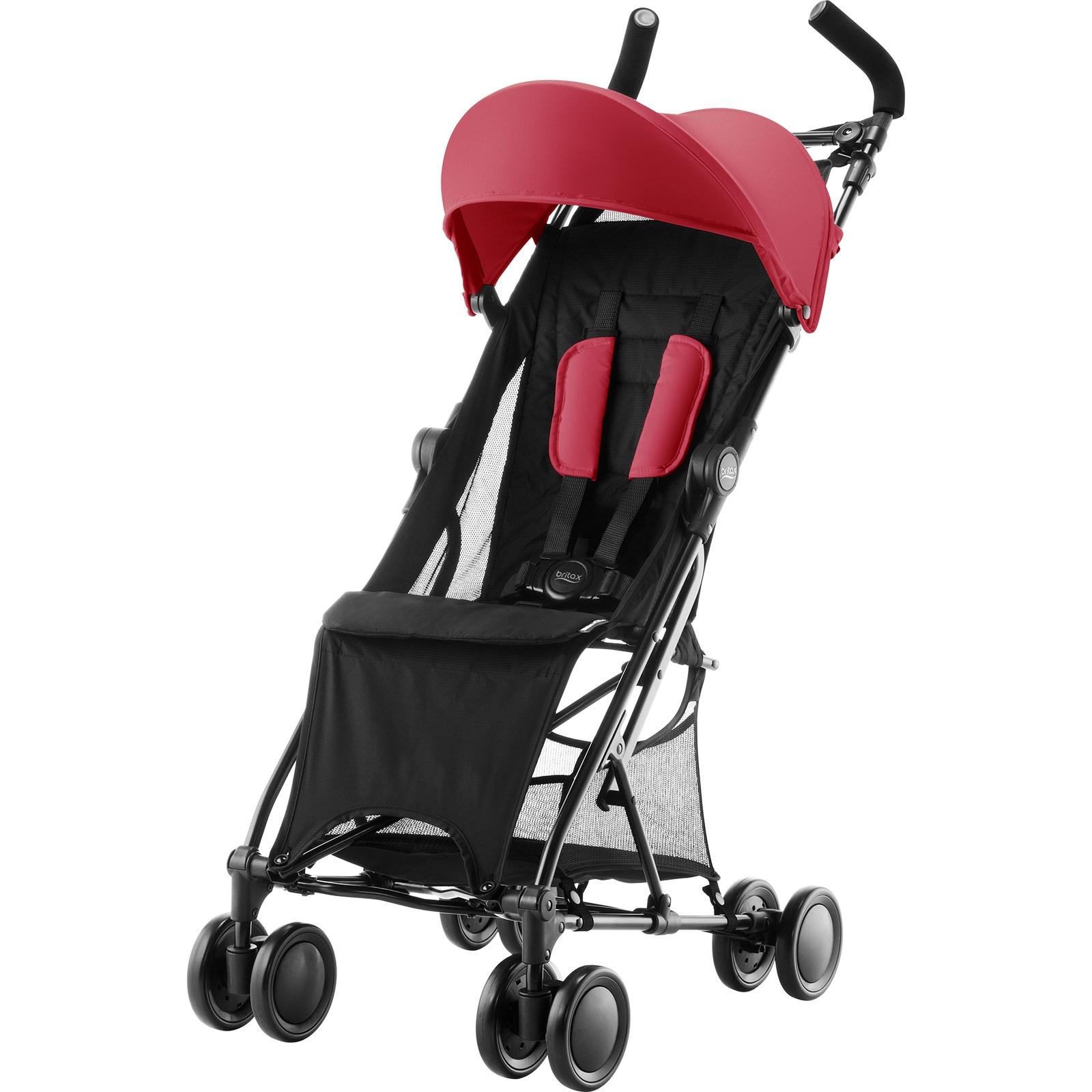 Детская прогулочная коляска Britax Roemer Holiday Flame Red
