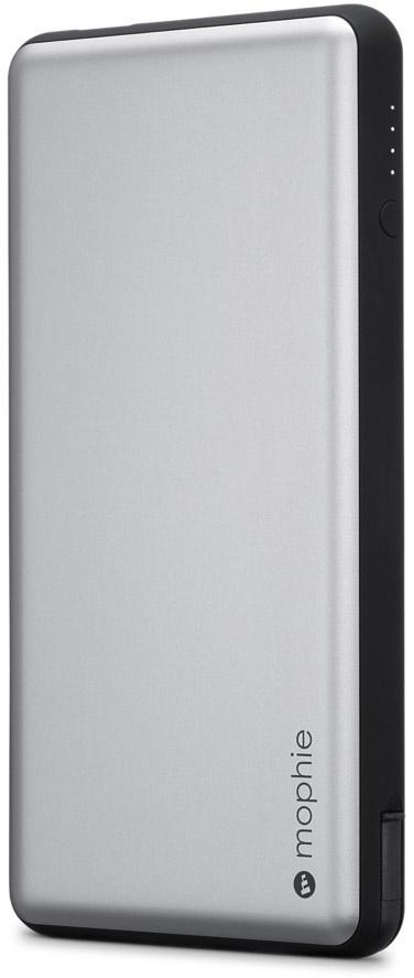 цена на Портативный аккумулятор Mophie Powerstation Plus 12000. Емкость 12000 МаЧ. Цвет:серый космос.