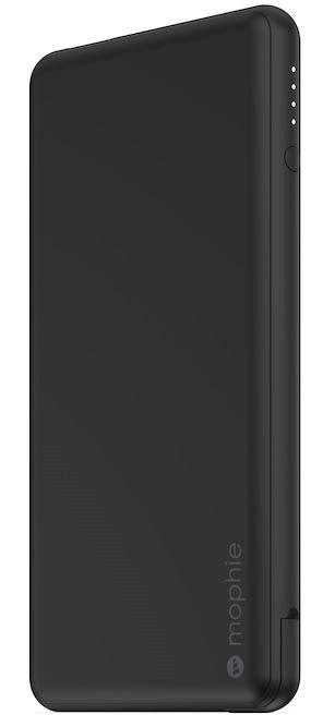 цена на Внешний портативный аккумулятор Mophie Powerstation Plus USB-C 6000 mAh. Встроенный кабель USB-C PD черный