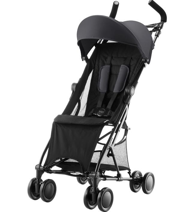Детская прогулочная коляска Britax Roemer Holiday Cosmos Black коляска прогулочная britax holiday cosmos black