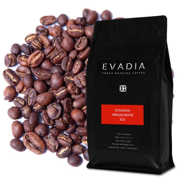 Кофе в зернах EvaDia Эфиопия Иргачеффе sfr блюз эфиопия мокко иргачиф кофе в зернах 1 кг