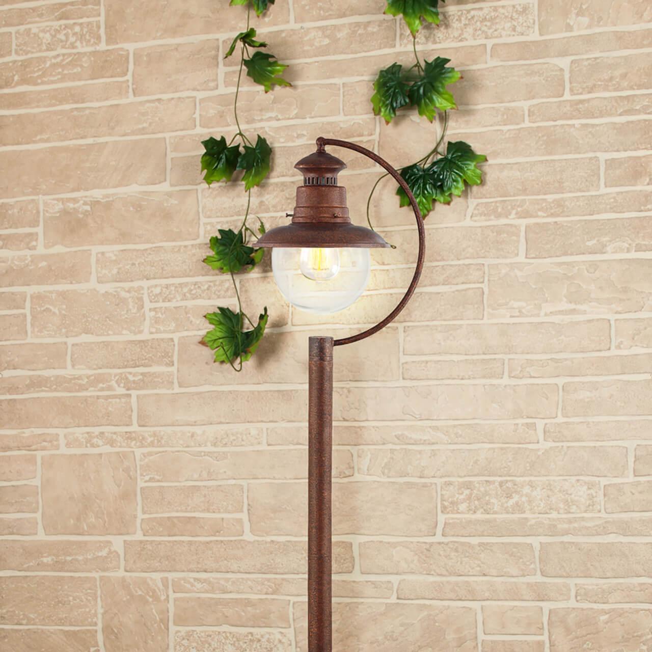 Уличный светильник Elektrostandard 4690389106606, E27 фонарный столб talli f 3 gl 3002f 3 брауни