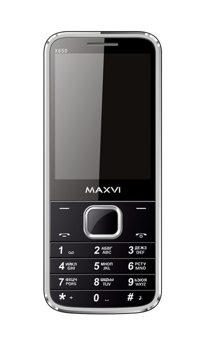 лучшая цена Мобильный телефон MAXVI X850 Black