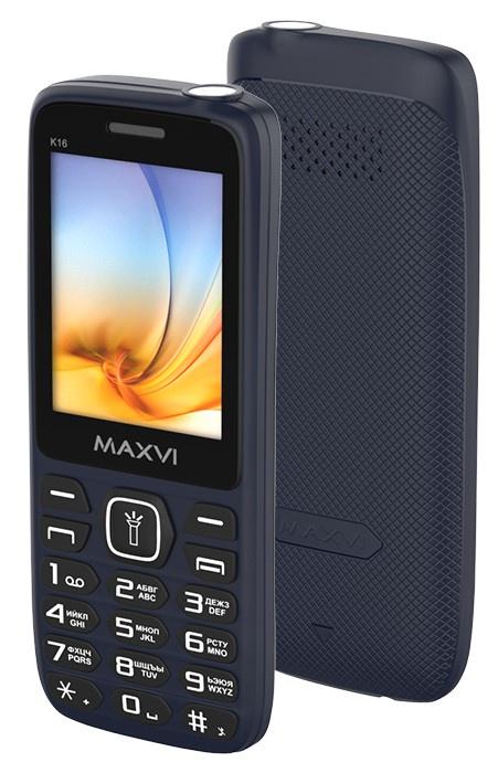 Мобильный телефон MAXVI K16 Blue цена