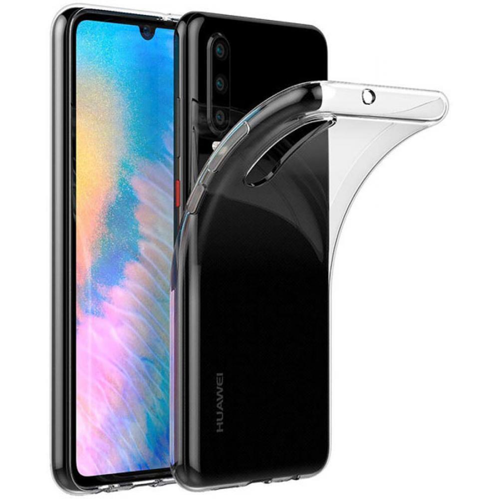 Силиконовый чехол для Huawei P30 Прозрачный чехол для huawei p30 onext прозрачный