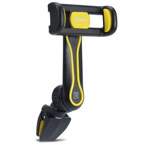 Автомобильный держатель для телефона в дефлектор Remax RM-C24 - Черный