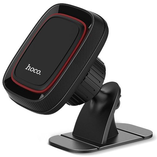 Автомобильный держатель для телефона магнитный Hoco CA24 - Черный держатель для мобильных устройств hoco ca24 lotto page 6
