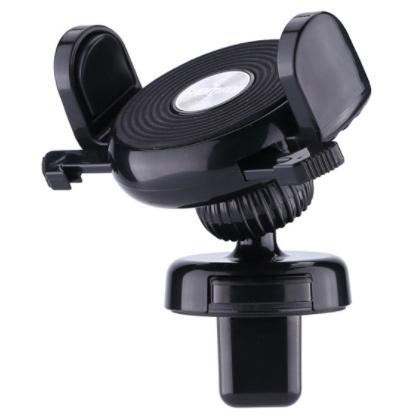 Автомобильный держатель для телефона в дефлектор Remax RM-C32 - Черный