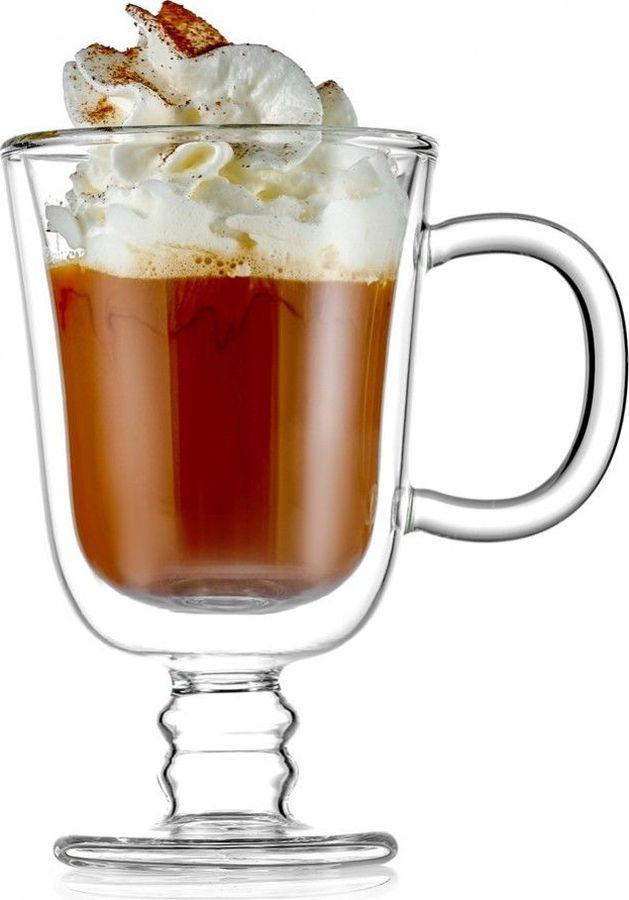 Набор термобокалов Walmer Irish Coffee, W37000701, прозрачный, 225 мл, 2 шт