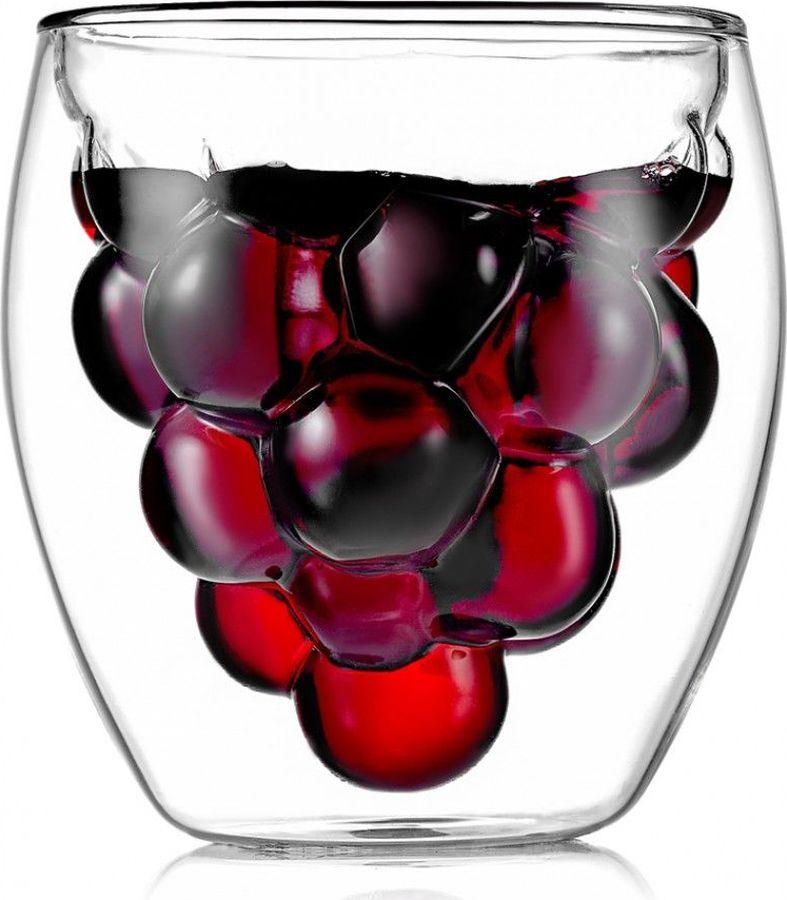 Термобокал для коктейля Walmer Grape, W37000710, прозрачный, 210 мл
