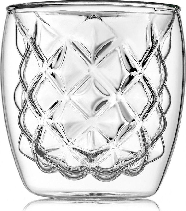 Термобокал для коктейля Walmer Ananas, W37000709, прозрачный, 210 мл