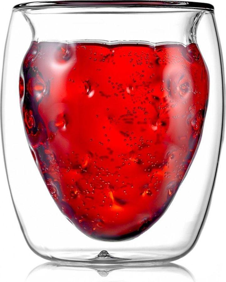 Термобокал для коктейля Walmer Berry, W37000711, прозрачный, 200 мл
