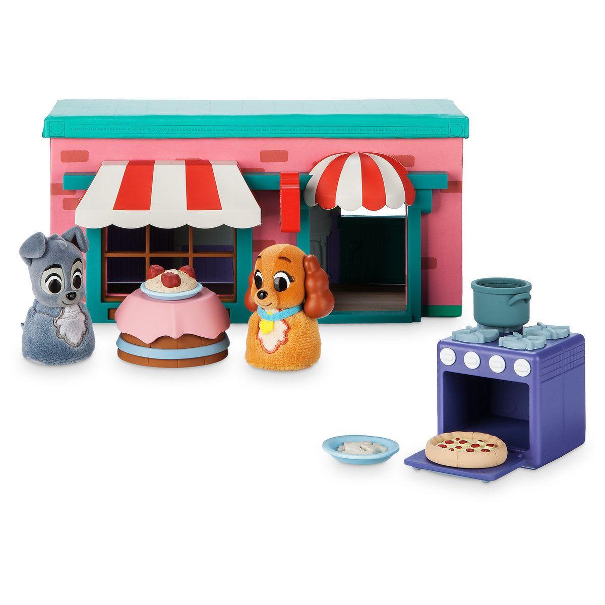 Игровой набор Леди и Бродяга Дисней ресторан Тони Disney фигурка декоративная disney леди и бродяга 16 5 см