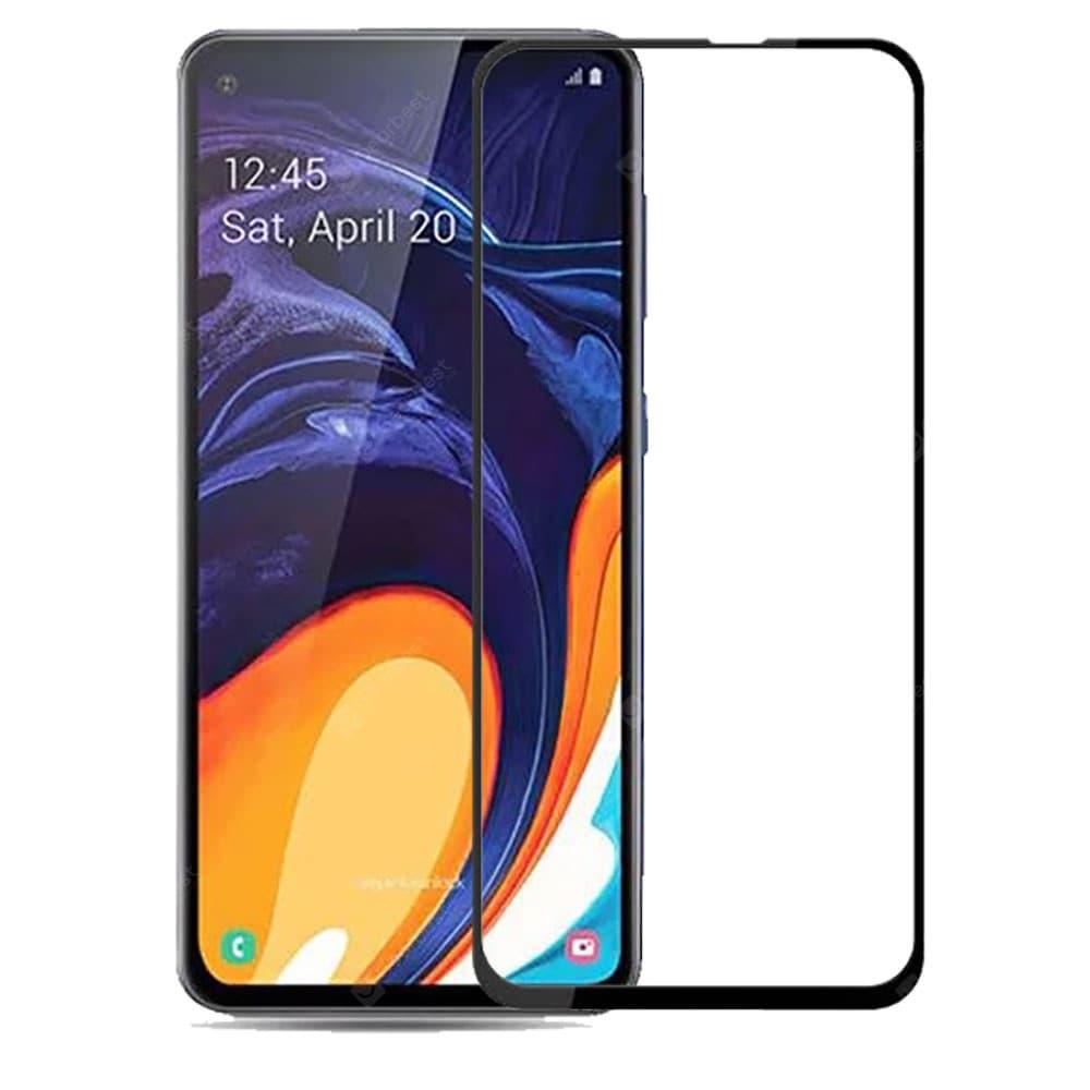 Защитное стекло Grand Full Glue для Samsung Galaxy A60, черный