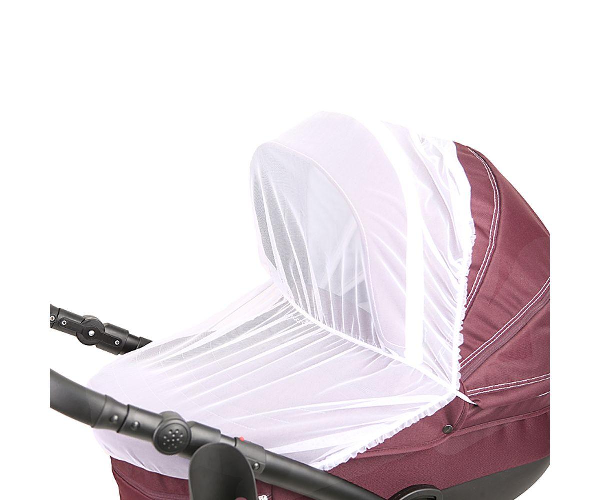 Москитная сетка для коляски Люлька сетка для защиты от насекомых 0 75х2п м в упаковке