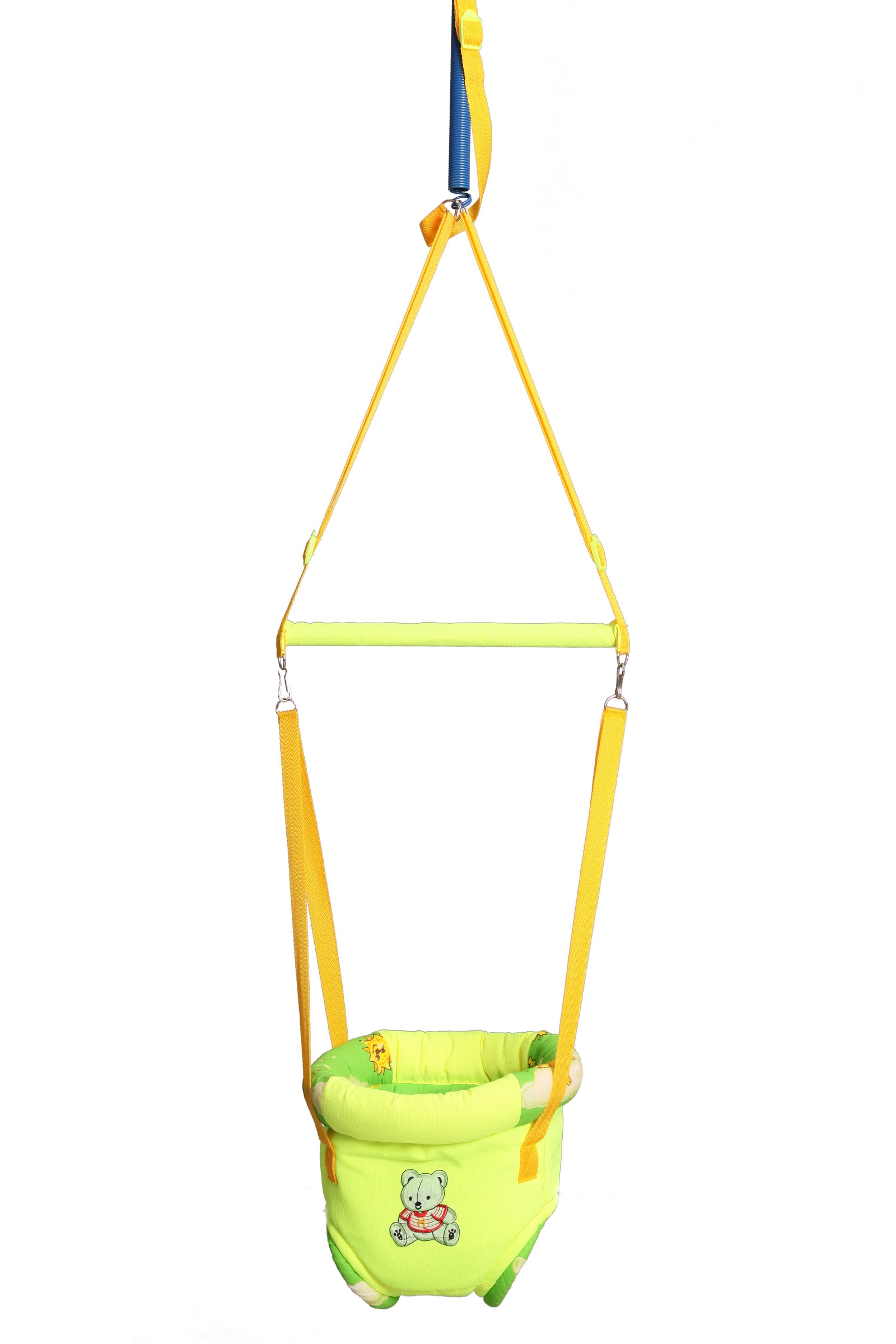 Прыгунки 3 в 1 №4 (прыгунки, качели, тарзанка), цвет салатовый