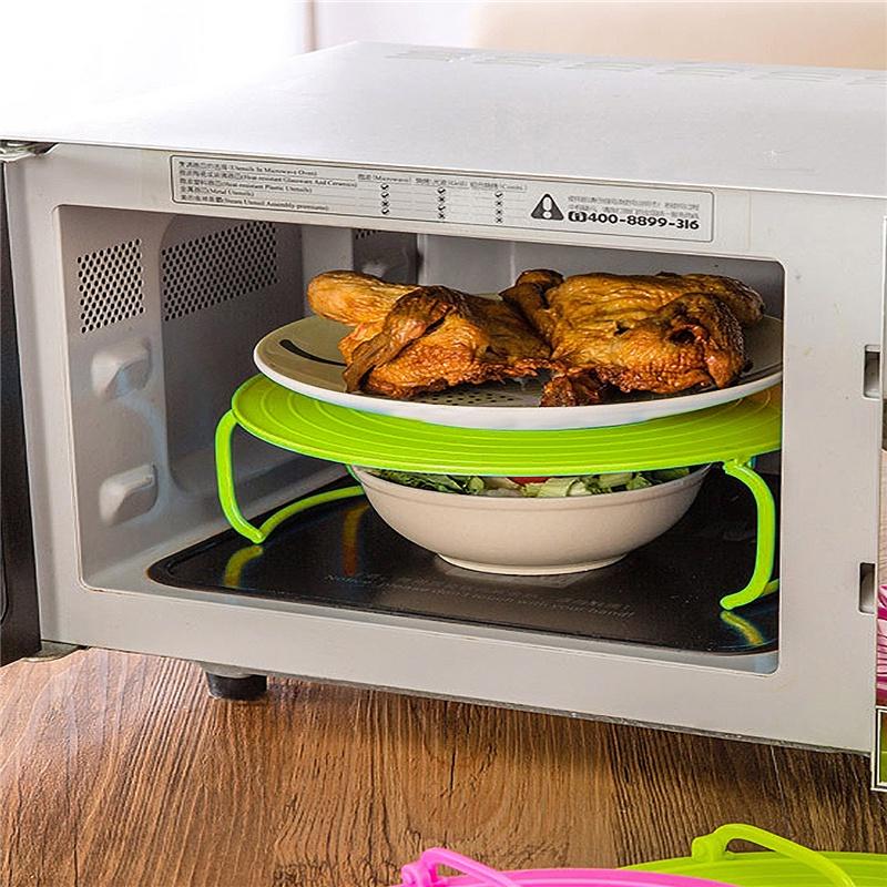 Многофункциональная подставка для подогрева блюд в микроволновке. Migliores Migliores