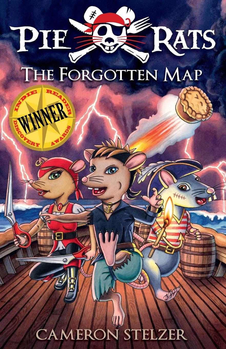 Cameron Paul Stelzer The Forgotten Map. Pie Rats Book 1 bones and the apple pie mystery