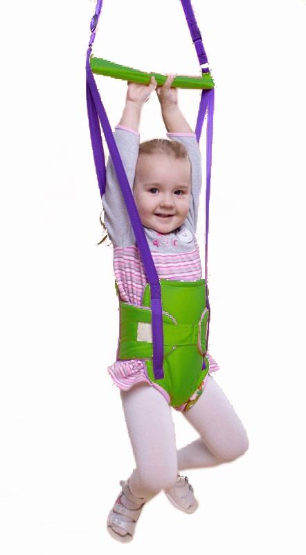 прыгунки Прыгунки детские Baby Bum, модель №1, цвет зеленый