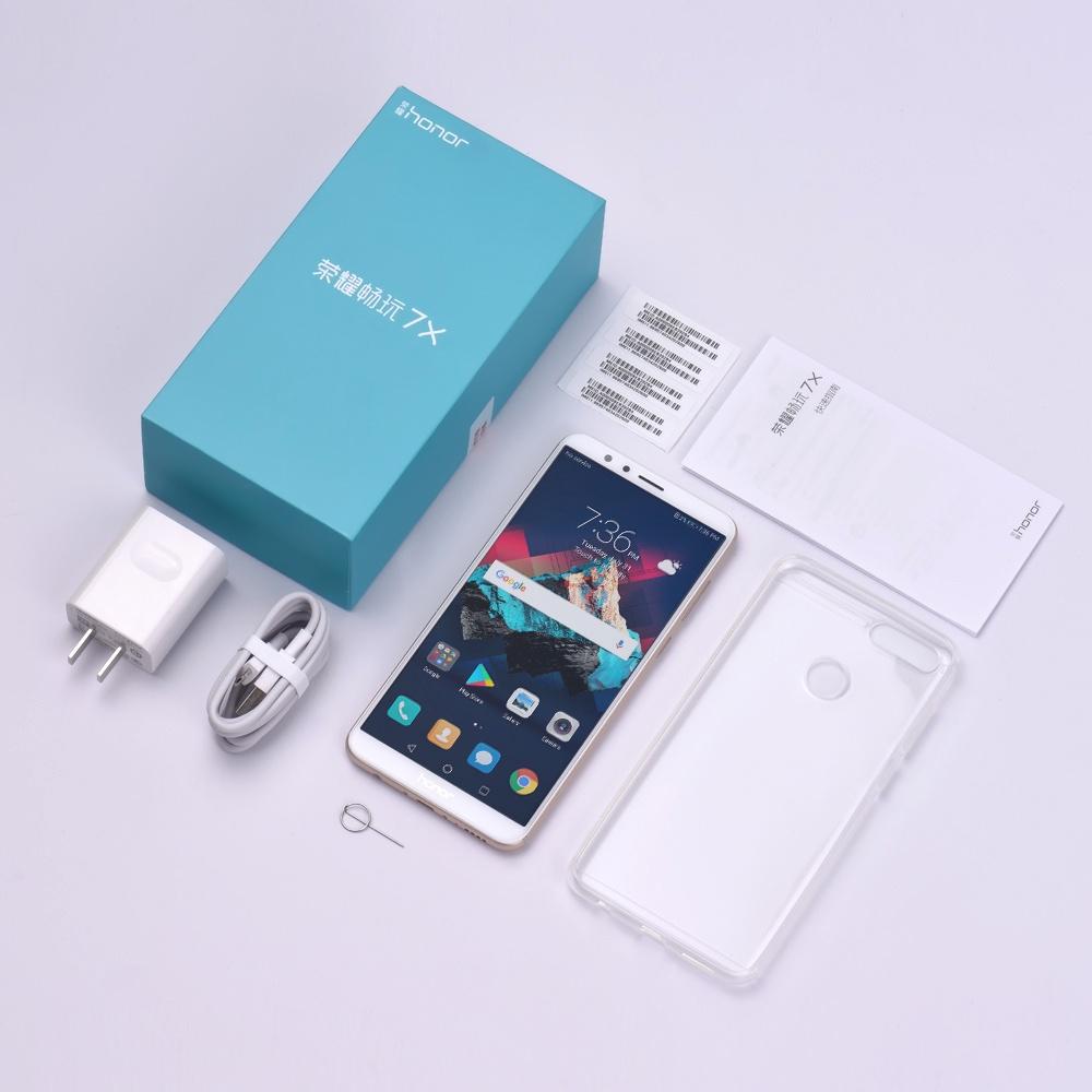 Смартфон Huawei 7X 4/64GB, золотой Huawei
