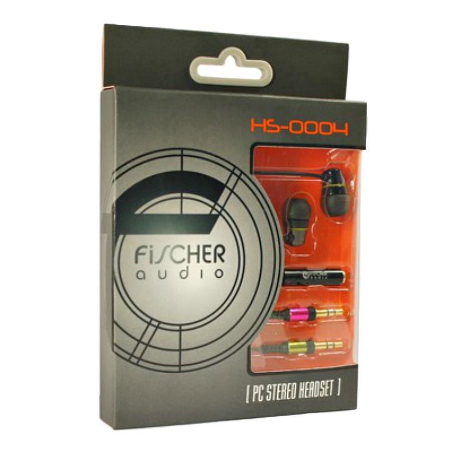 Стереогарнитура Fischer Audio HS0004 провод для наушников стерео адаптер fischer audio ad220