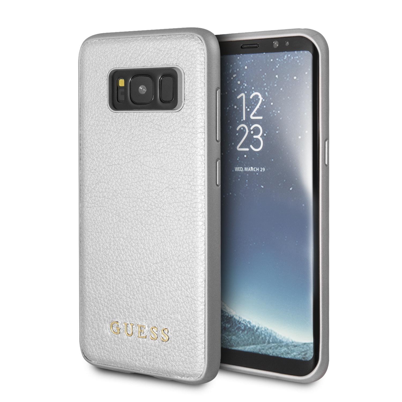 Чехол Guess Iridescent для Samsung Galaxy S8, серебристый