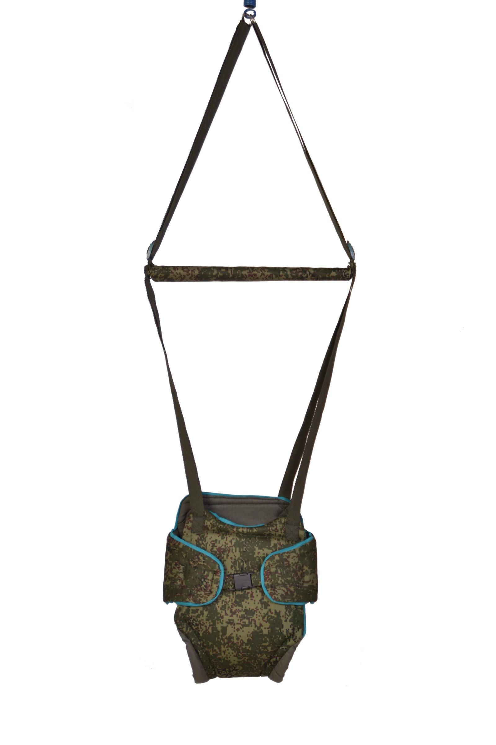 Прыгунки детские Baby Bum, модель №2, цвет хаки