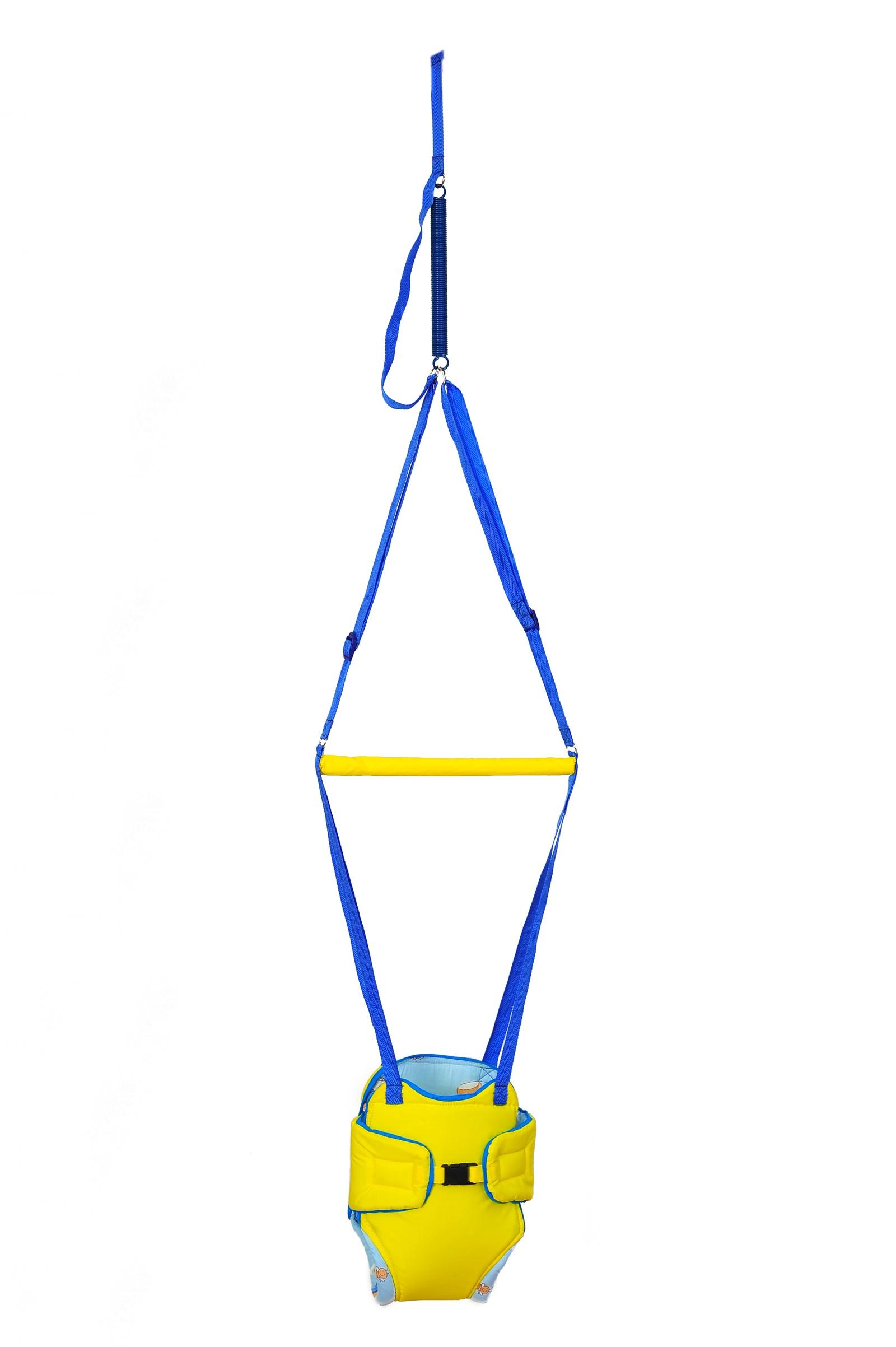 Прыгунки детские Baby Bum, модель №2, цвет желтый