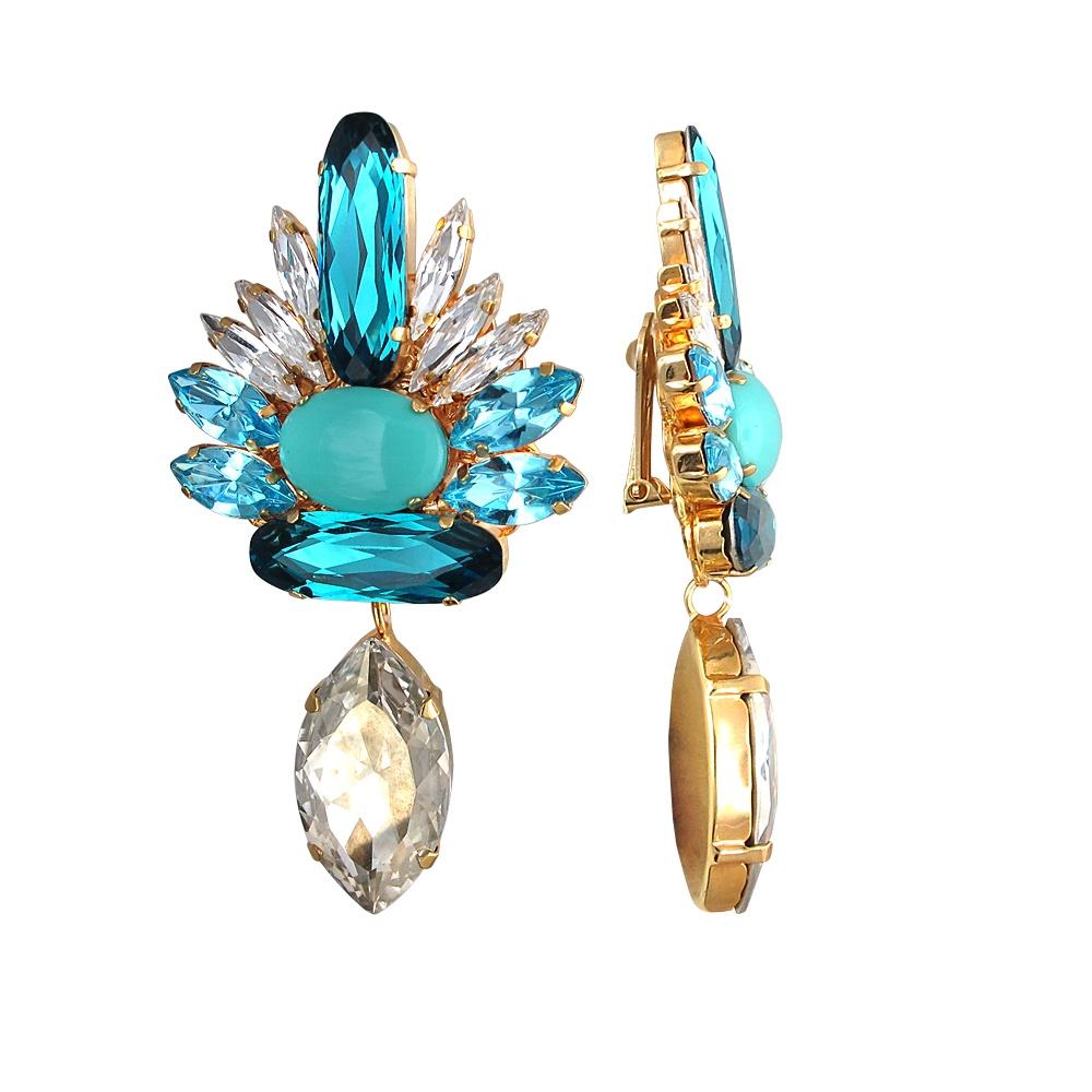Серьги бижутерные The-Jeweller бижутерия сваровски каталог цены
