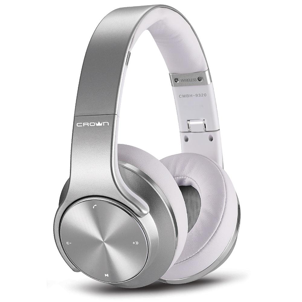 Гарнитура CROWN CMBH-9320 Silver стоимость