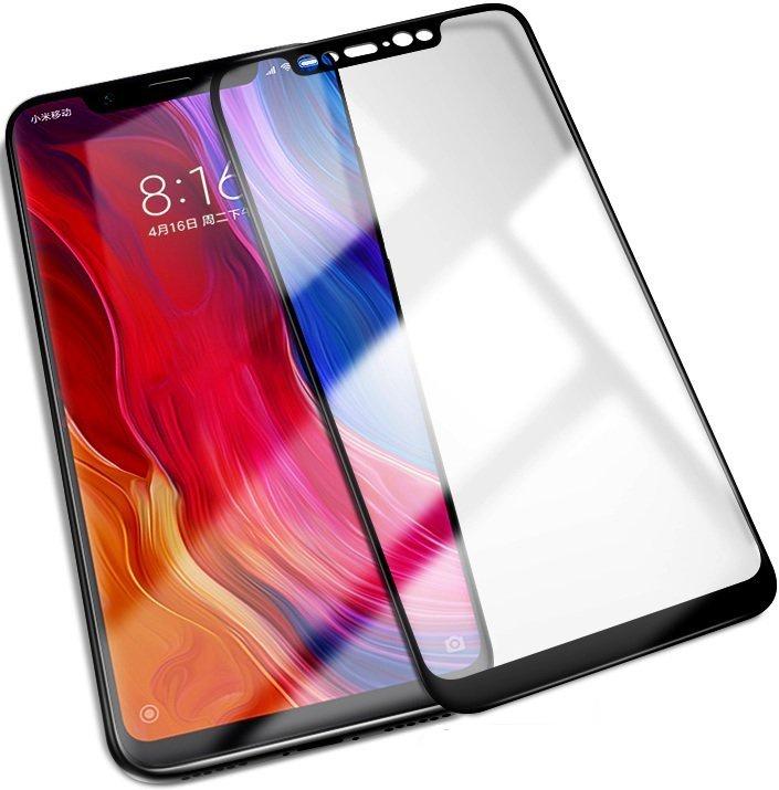 Защитное стекло Grand Full Glue для Xiaomi Mi 8, черный