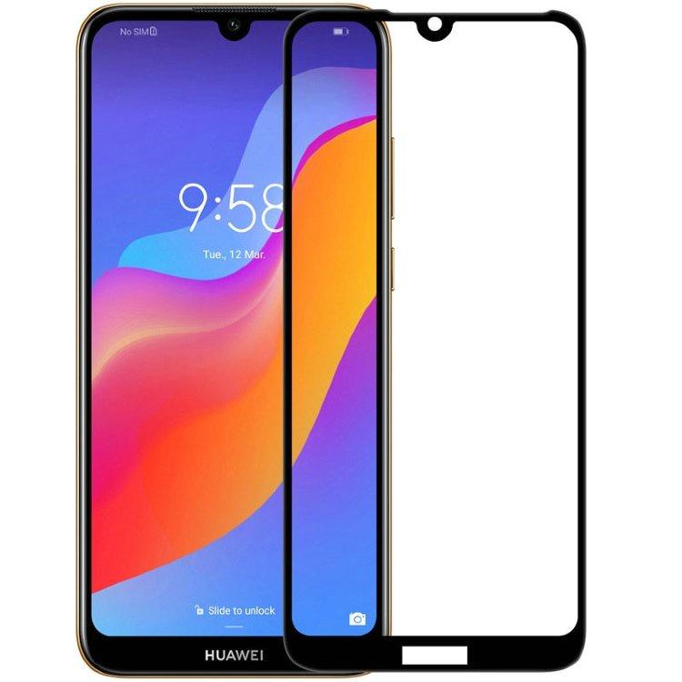 Защитное стекло Grand Full Glue для Huawei Honor 8A, черный